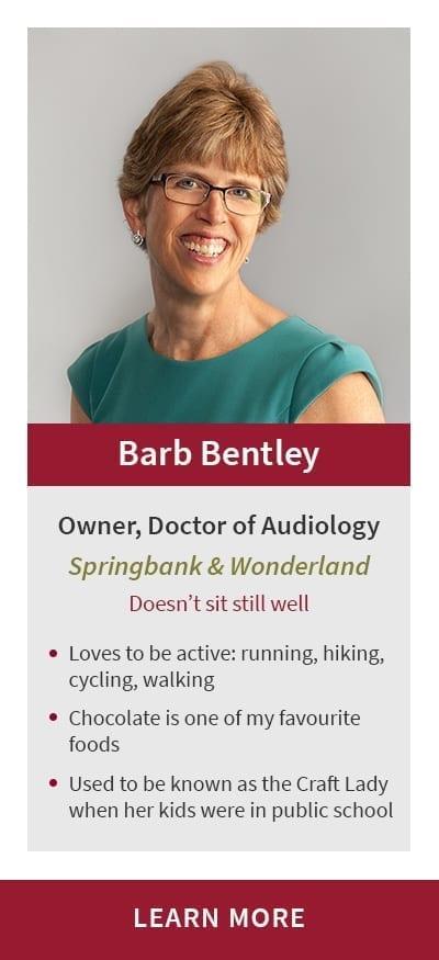 Barb Bentley of Bentley Hearing